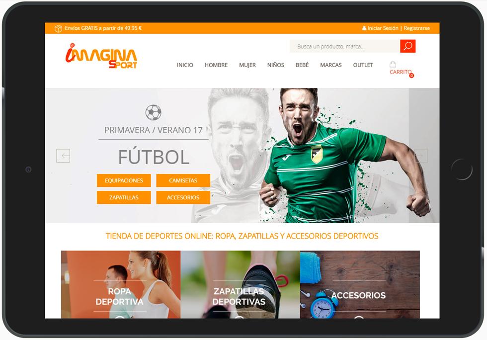 imagina sport web