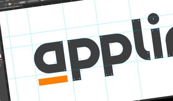 Diseño de logo de Applinet