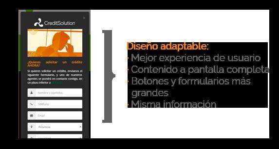 Diseño web adaptable a dispositivos moviles y tablets