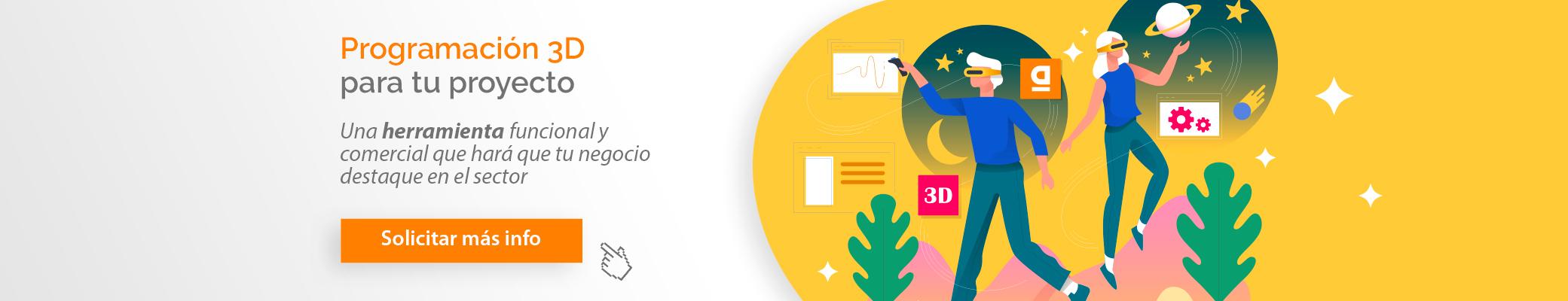 Programación en 3D para tu proyecto