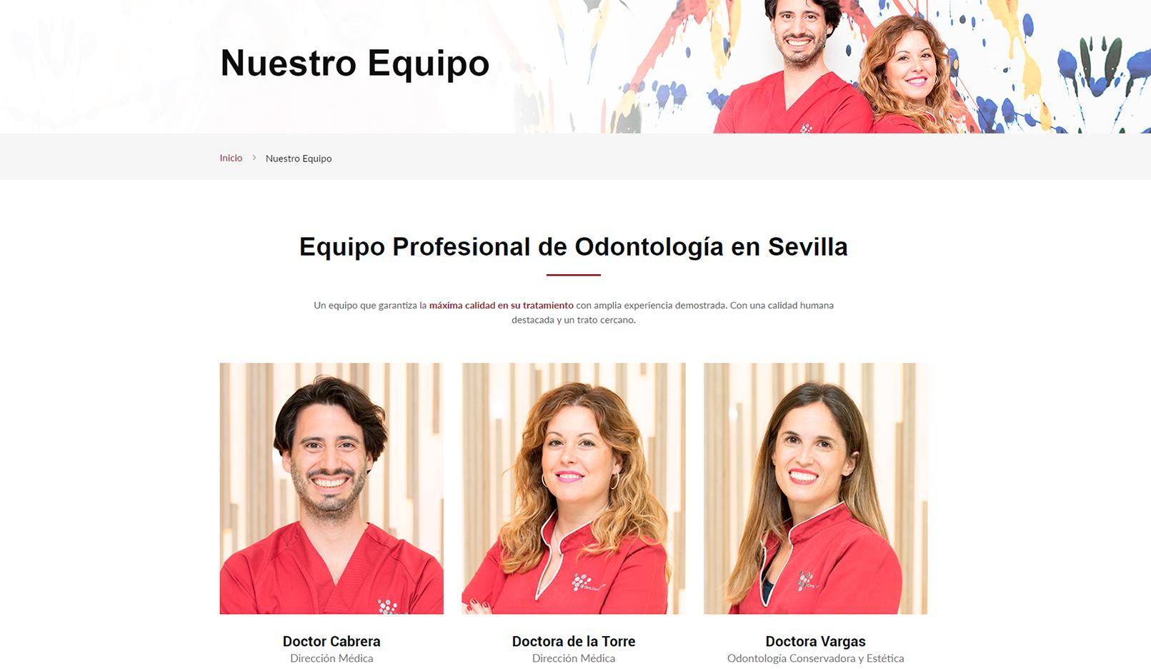 Clinica Centro Sevilla Equipo